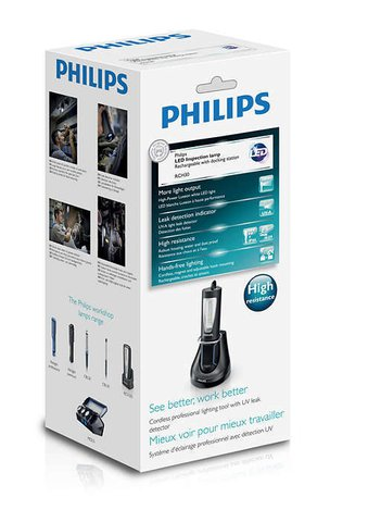 Работна лампа PHILIPS, LED Inspection lamp with docking station RCH30