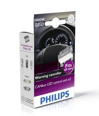 Стоп-ерор CANbus LED control unit 12V 5W, 2 бр/к-т