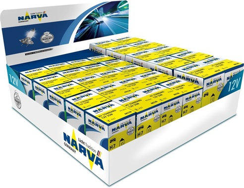 NARVA Counter Display 12V, H7 & H4