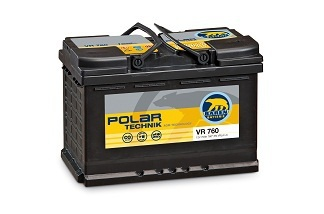 Акумулатор, POLAR TECHNIK AGM VR 760, L3 70Ah, 760