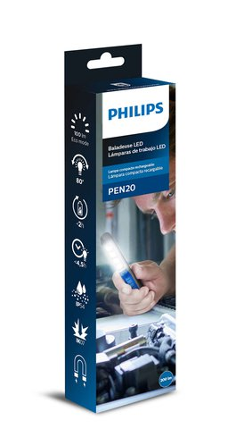 Работна лампа PHILIPS, LED Inspection Lamp PEN20