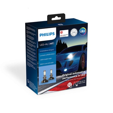 Автолампи PHILIPS, X-tremeUltinon Gen2 LED H7 11972 XUW     X2