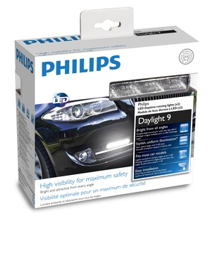 Дневни светлини Philips DRL DayLight 9 LED 12V