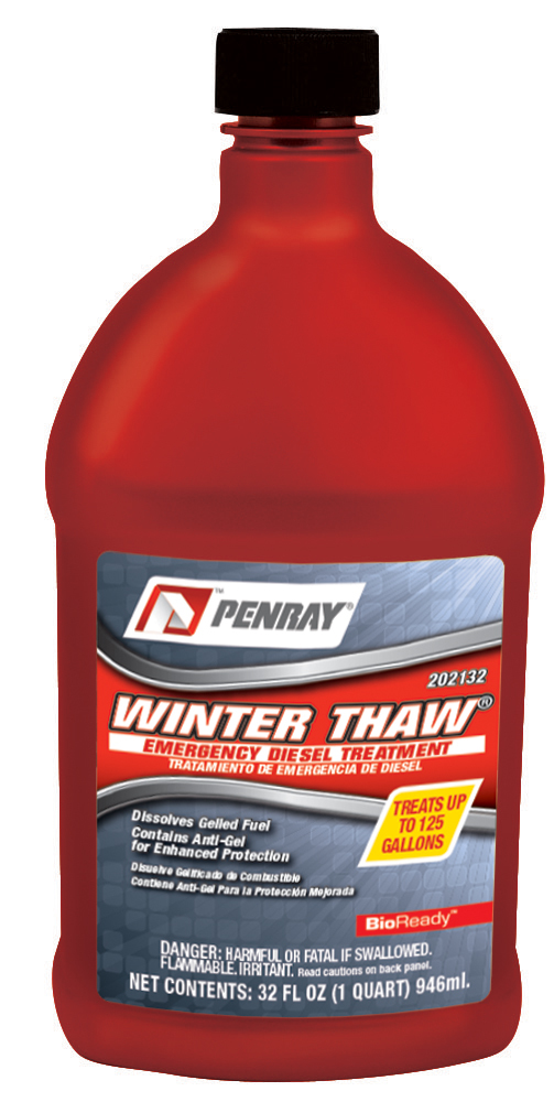 Добавка за дизел Penray Winter Thaw Emergency Diesel Fuel Treatment, 946 ml.